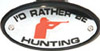 I'd Rather Be Hunting Hitch Cover