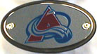 Avs Red and Blue Hitch Cover