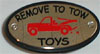 Remove to Tow Toys Hitch Cover