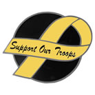 Support Our Troops Hitch Cover