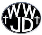 WWJD Hitch Cover