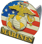 New Marines Hitch Cover