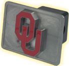 Oklahoma OU Hitch Cover