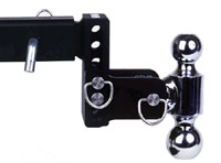 Tow & Stow Ball Mount with 2 Balls
