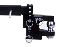 Tow & Stow Pintle Hitch