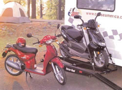 Versa-Haul Single Motorcycle 