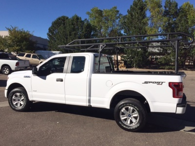 Smittybilt full truck and bed ladder Rack