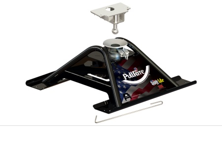 PullRite Super Lite 20K 5th Wheel to Gooseneck Adapter