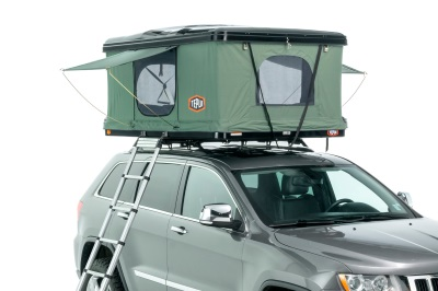 Tepui Hybox roof tent open