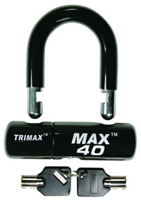 Trimax MAX40 Black U-Lock