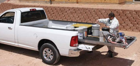 Cargo Slide for Truck Beds, SUVs & Vans