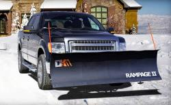 K2 Snowplow on Truck