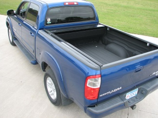 Retrax One Tonneau Cover Opened