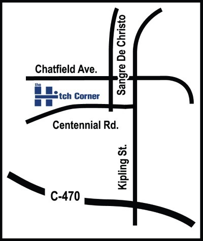Map of Hitch Corner